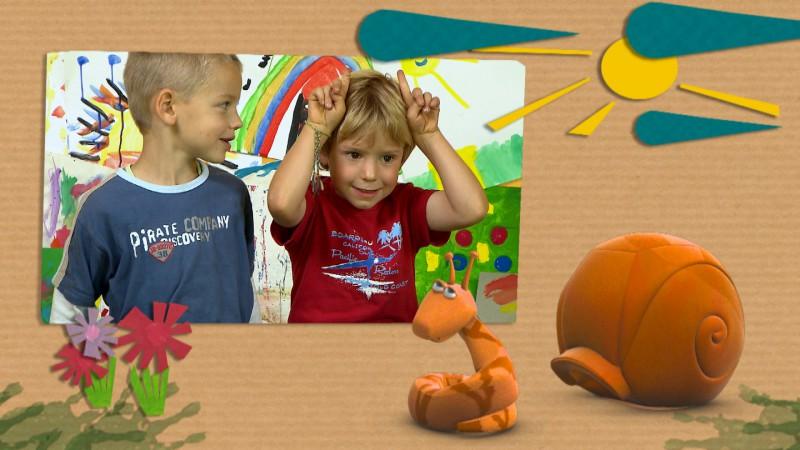 儿童彩笔动物背景图片大全