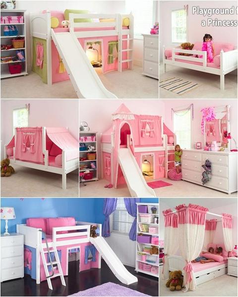 超梦幻的儿童床!帐棚 +