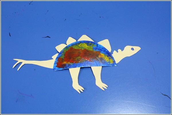 幼儿园区域纸盘鱼图片