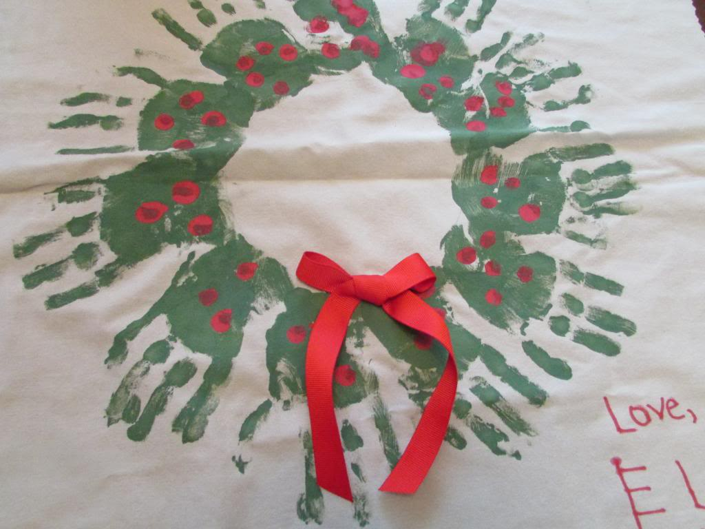 handprint christmas gifts
