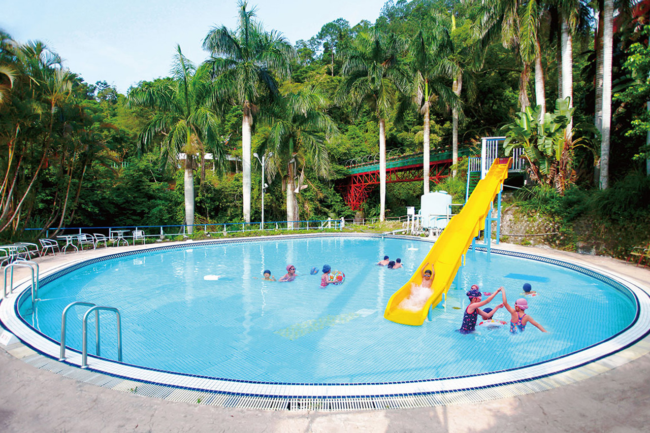 統一馬武督渡假村戶外泳池、滑水道