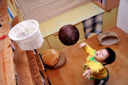 自制儿童篮框/篮球架