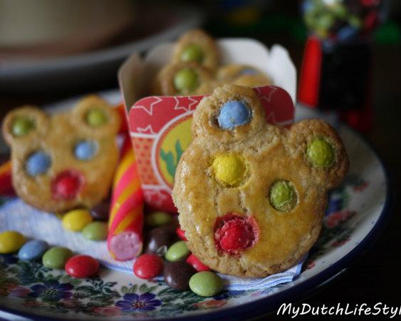 彩色豆的繽紛味!超可愛小熊餅乾DIY