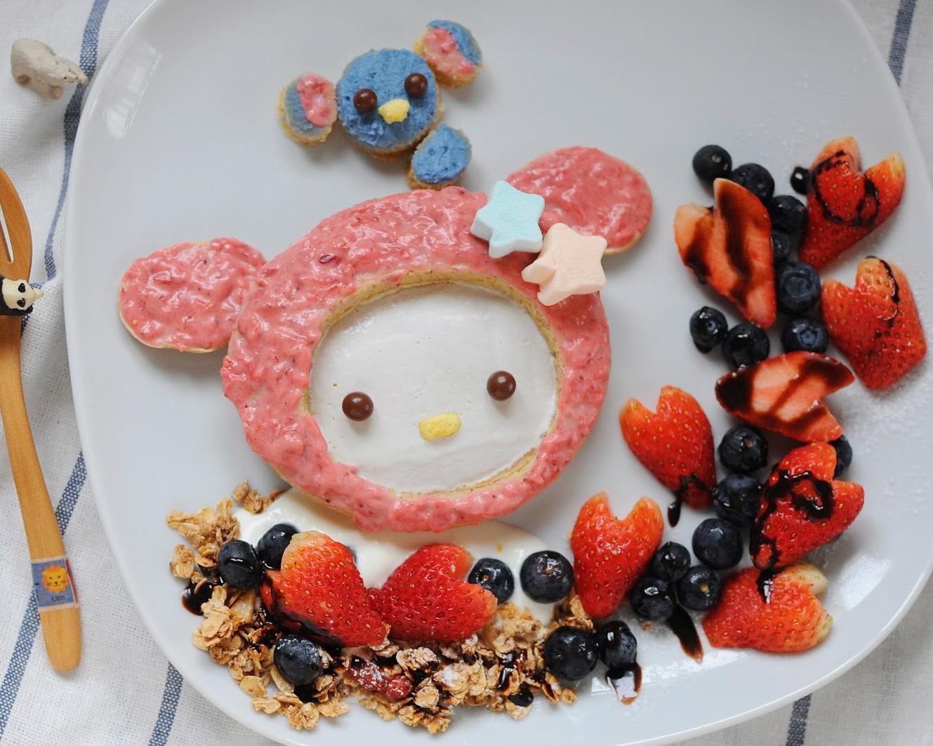 來自童話世界的~粉紅色草莓牛奶抹醬
