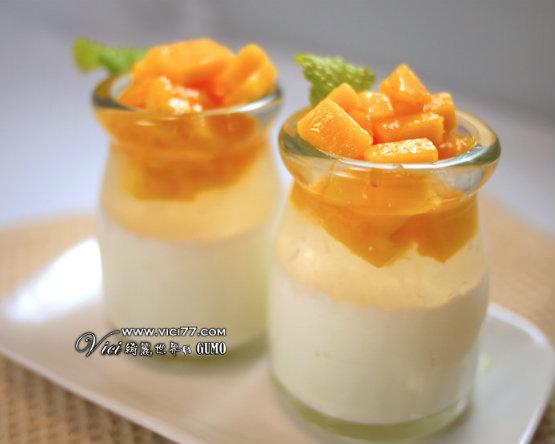 夏天就是要吃芒果!漸層芒果燕窩燉奶DIY