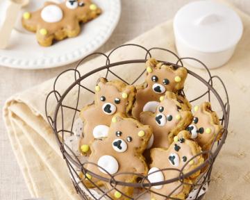 小熊核桃糖霜餅乾 - 初學新手也能輕鬆上手