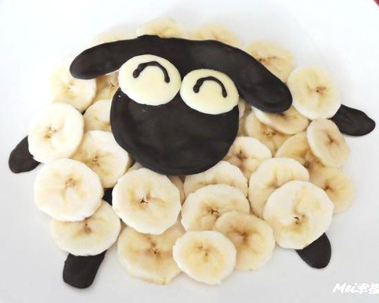 咩~綿羊の香蕉巧克力來啦!