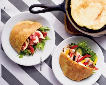 口袋餅 - 超簡單!《每天吃也不會變胖的減醣麵包》免揉、無麵粉、無精緻糖,具飽足感!