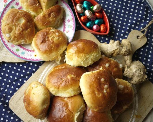 充滿耶誕香氣的早餐~甜薑麵包