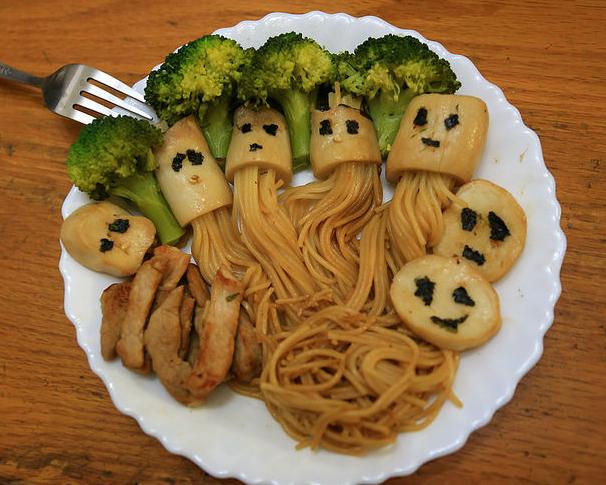 天啊!我把菇菇變水母了!創意杏鮑菇義大利麵