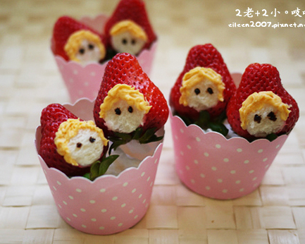 無敵療癒小點心~草莓小紅帽