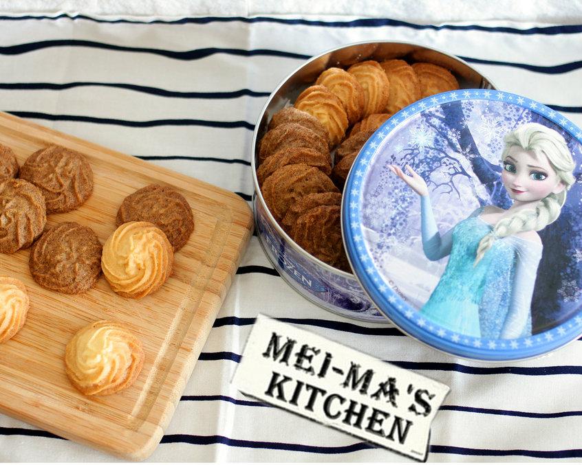 港式美味在家簡單做~香噴噴的曲奇餅