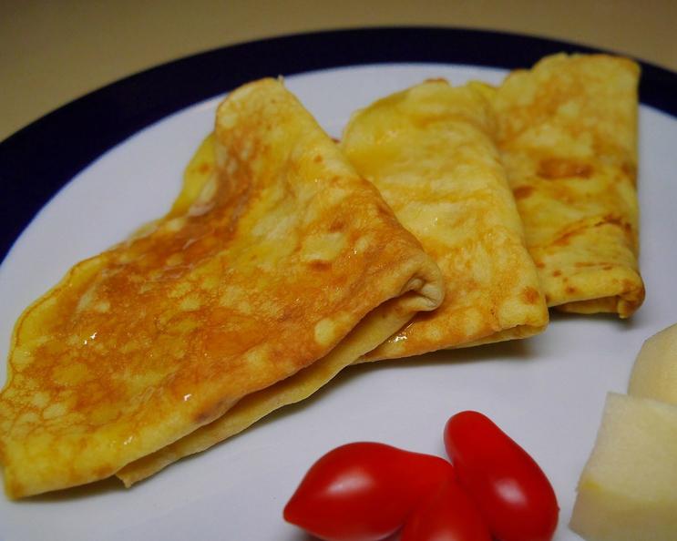 法式可麗餅,十分鐘快速上桌!早餐、下午茶或消夜都超適合~