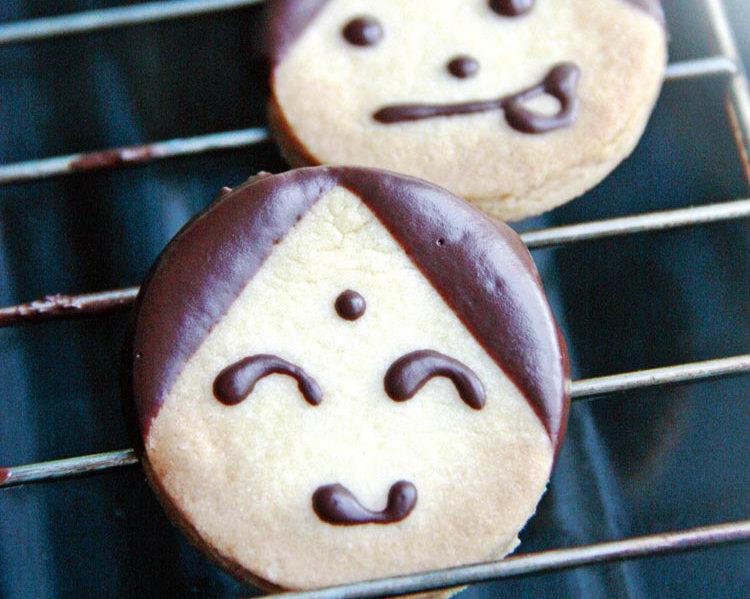 《讓孩子愛上吃飯》麵團化身的童趣:娃娃餅乾