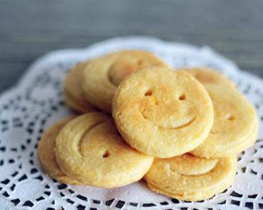 你今天微笑了嗎?微笑地瓜餅DIY