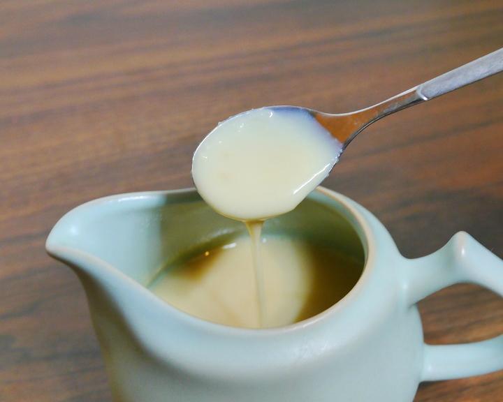 自製煉乳超簡單!低糖低卡,而且不怕吃到添加物囉~