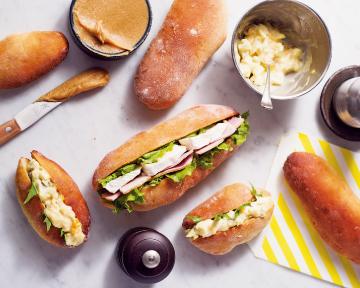 熱狗麵包 - 超簡單!《每天吃也不會變胖的減醣麵包》免揉、無麵粉、無精緻糖,具飽足感!