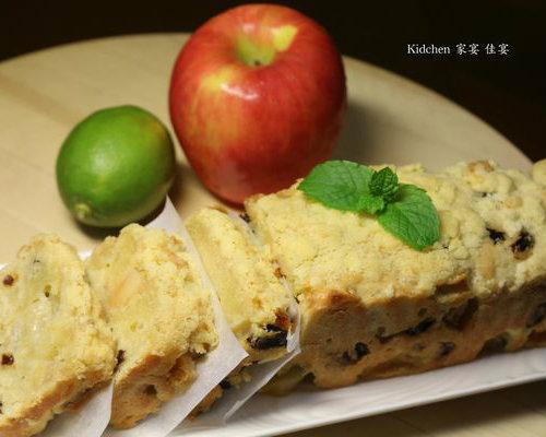 野餐快速補充能量小點心!蘋果奶酥DIY