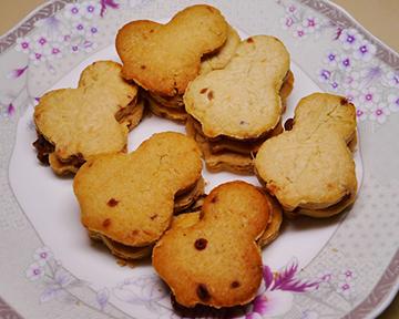 黑糖餅乾,香香鬆鬆的手指食物