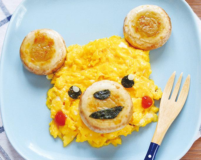 五分鐘出早餐 ~「陽光下的小熊」