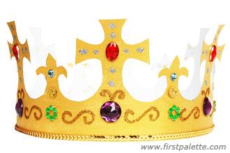 Как сделать корону ребенку фото 357