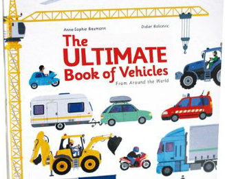 可操作的世界車輛工具書,自己動手救火作工程~The ultimate book of vehicles from around the world
