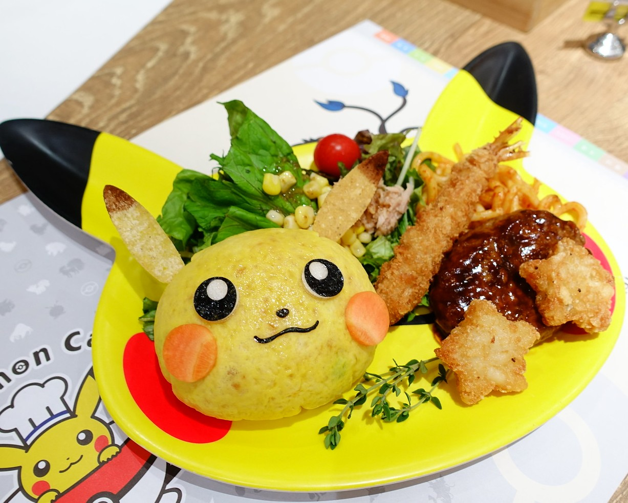 完全預約制!寶可夢魅力無法擋~東京Pokemon Cafe