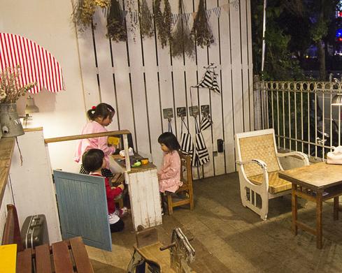 鄉村雜貨風輕食、早午餐,附設兒童遊戲小廚房~永和A Day日日村